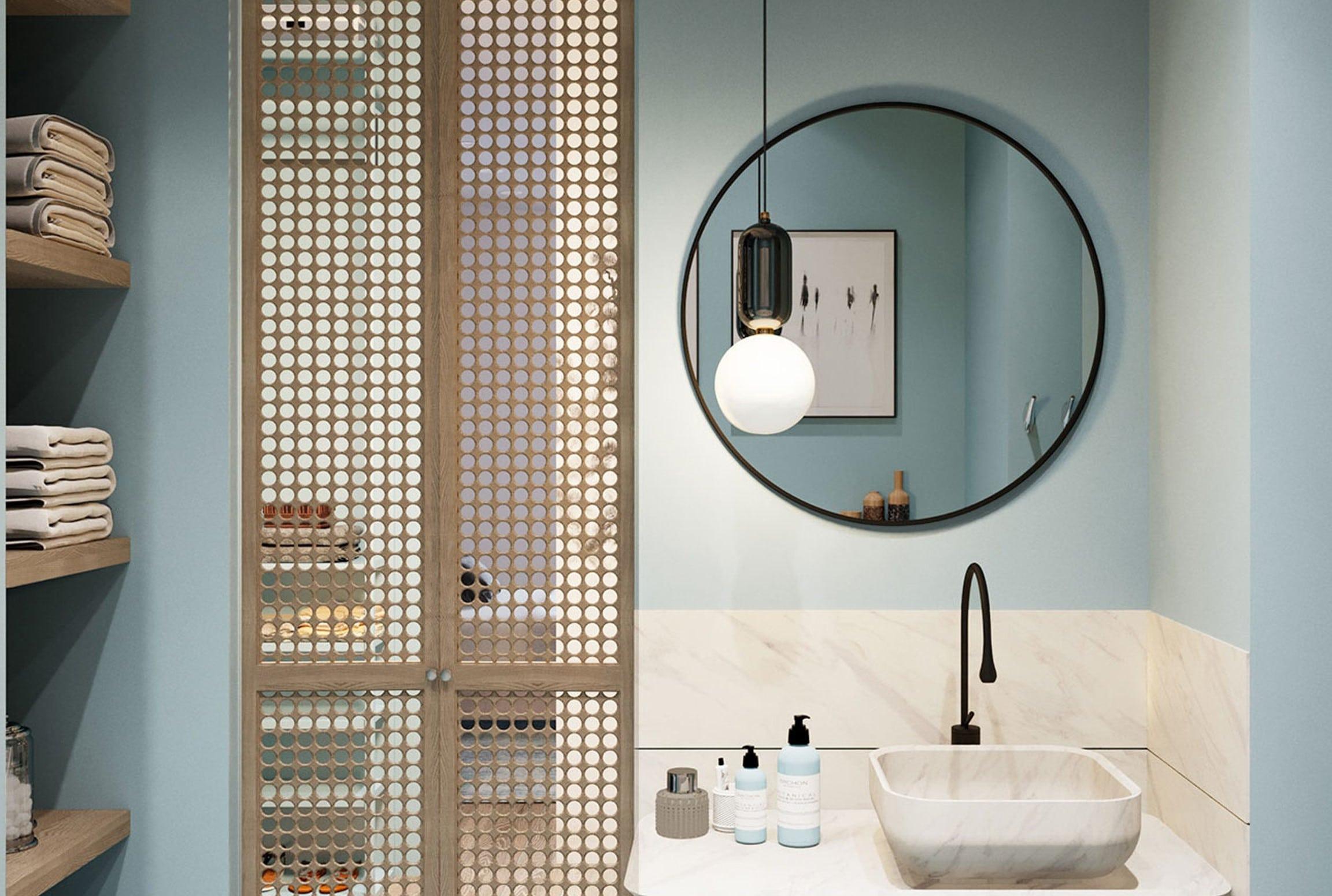chọn nội thất cho phòng tắm